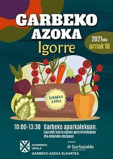 Garbeko Azokea bueltauko da Igorrera domekan