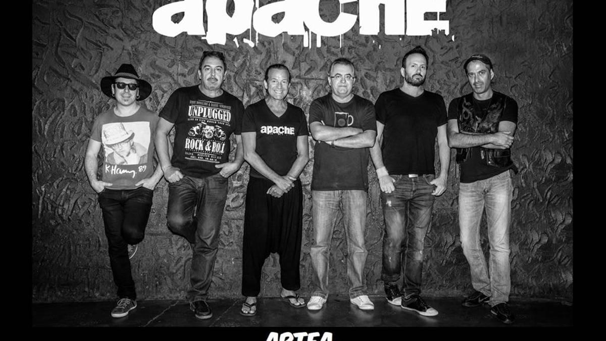 Apache taldearen kontzertua izango da bihar Artean