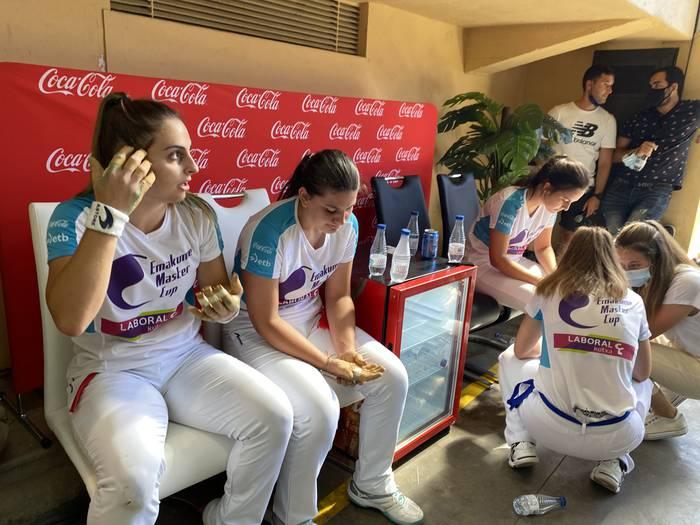 Amaia Aldai-Andrea Capellan bikotea San Mateo Txapelketako finalerako sailkatu da